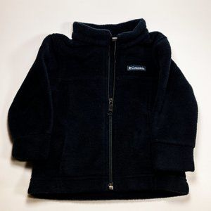 Black Toddler/Baby Columbia Fleece Size: 9-12M